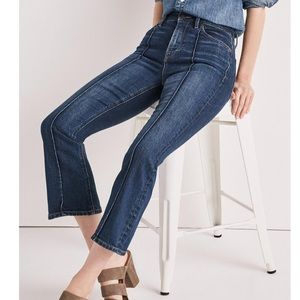 NWT Lucky Brand Bridgette Crop Flare Jeans